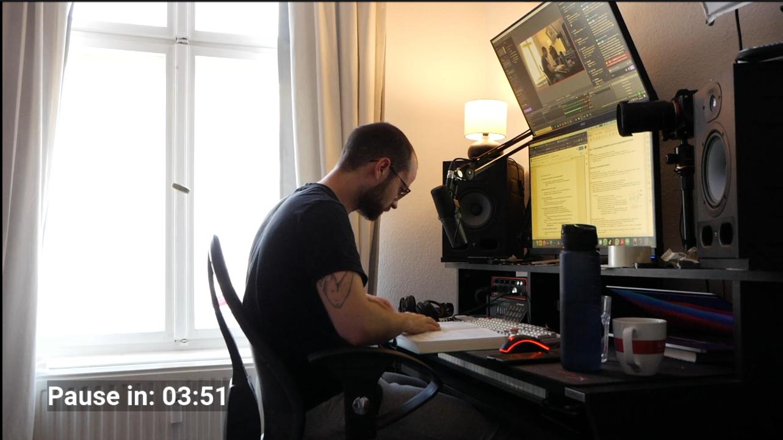 NiksDa | Study-with me auf seinem Twitch Kanal https://www.twitch.tv/niksda